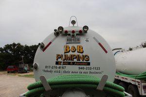 B & B Pumping Septic Pumping Truck