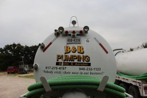 B & B Pumping Septic Pump Truck