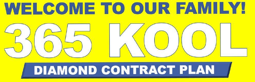 welcome to 365 kool diamond contract plan