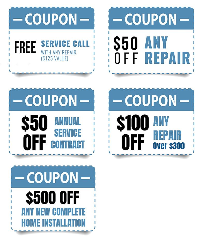 Page Of assorted coupons