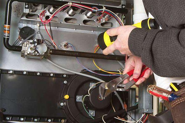 Repairing a heater