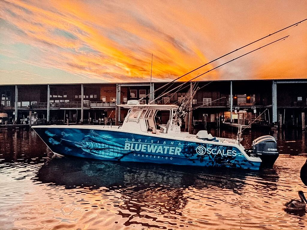 fishing charter LA picture