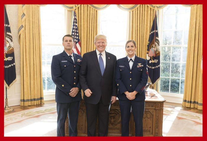 Image of Bob and President Trump