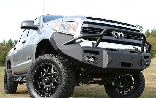 Aftermarket front bumper