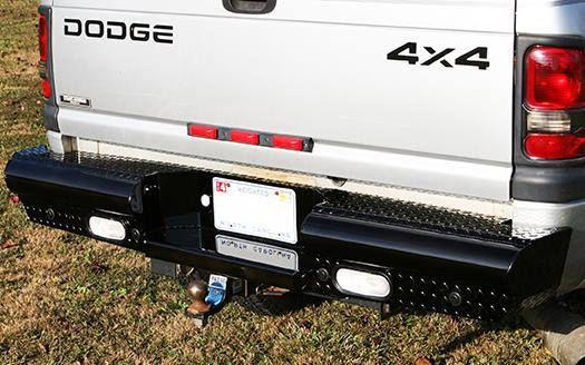 Aftermarket rear bumper
