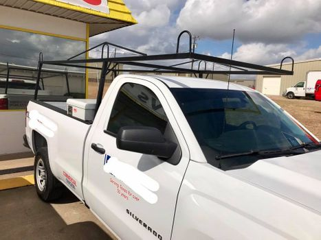 Truck with ladder rack