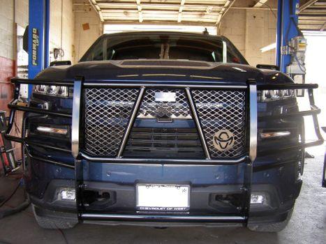Truck grill guard