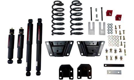 Lowering kit suspension