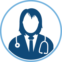 female doctor profile