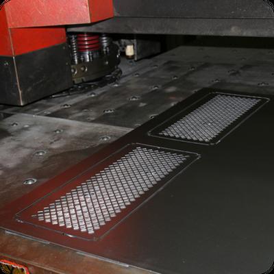 pressed mesh grills