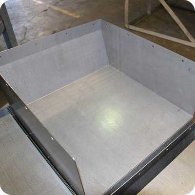 fabricated metal component