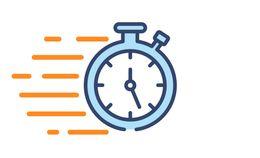 Air Balancing clock