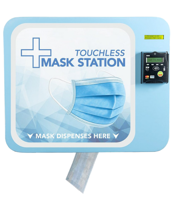 touchless mask station