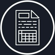 Paper work icon
