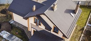 Image of nice roof from above