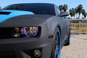 black coated car