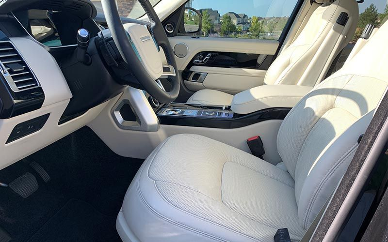 Interior Detail Land Rover