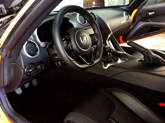 Dodge Viper Interior detail