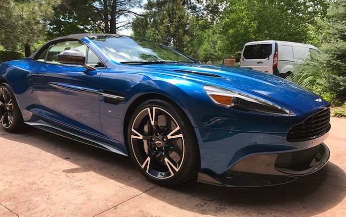 Aston Martin Vantage Convertible Ceramic Coating