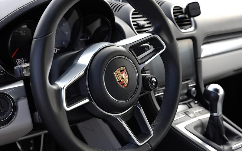 Porsche Cayman 718 Interior Detail