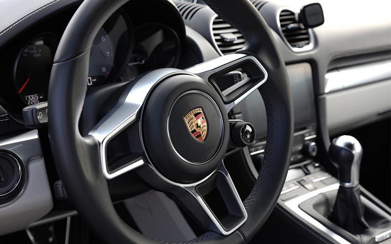 Porsche Cayman 718 Interior Detail