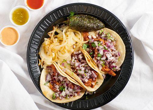 Pork al Pastor Street Tacos