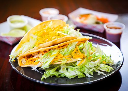2 Beef Tacos