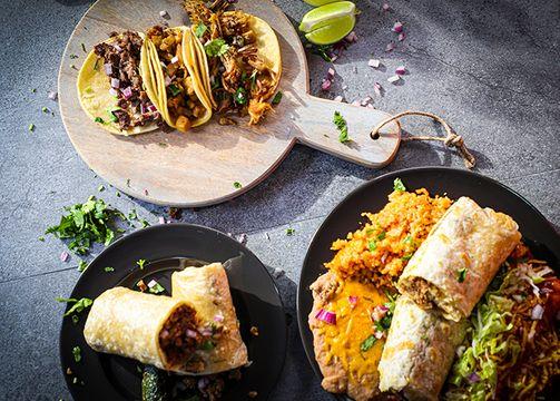 Street Tacos and Burritos