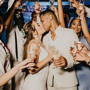 photo at a wedding