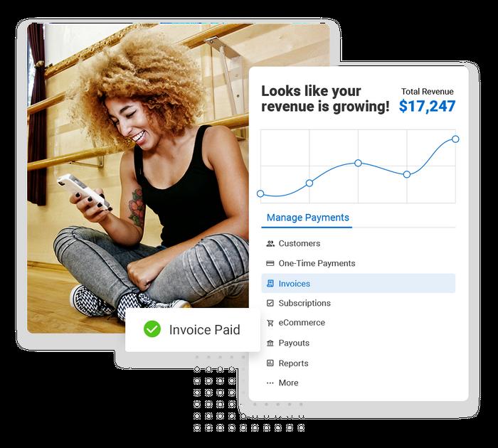 Dance studio payments software