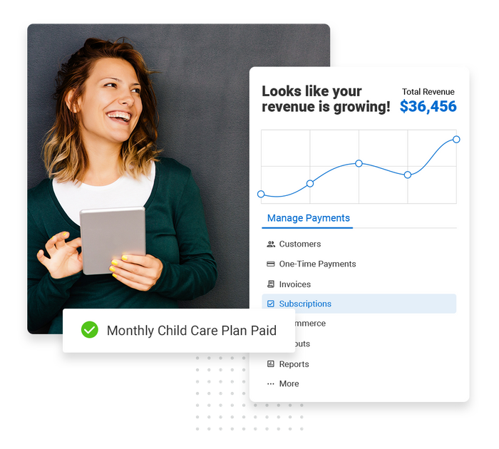 Child care payments software