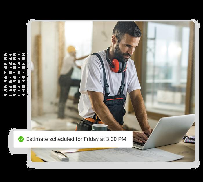 roofer scheduling software