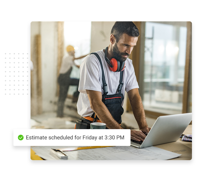 roofer scheduling software
