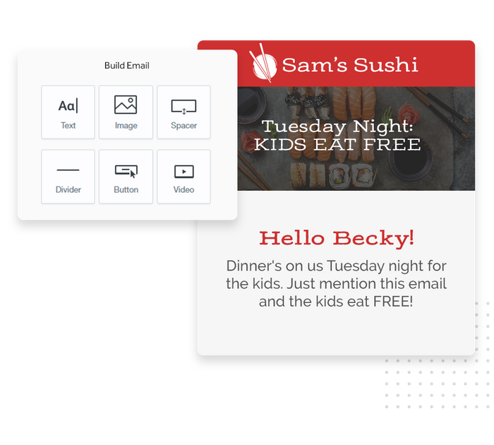 restaurant email marketing