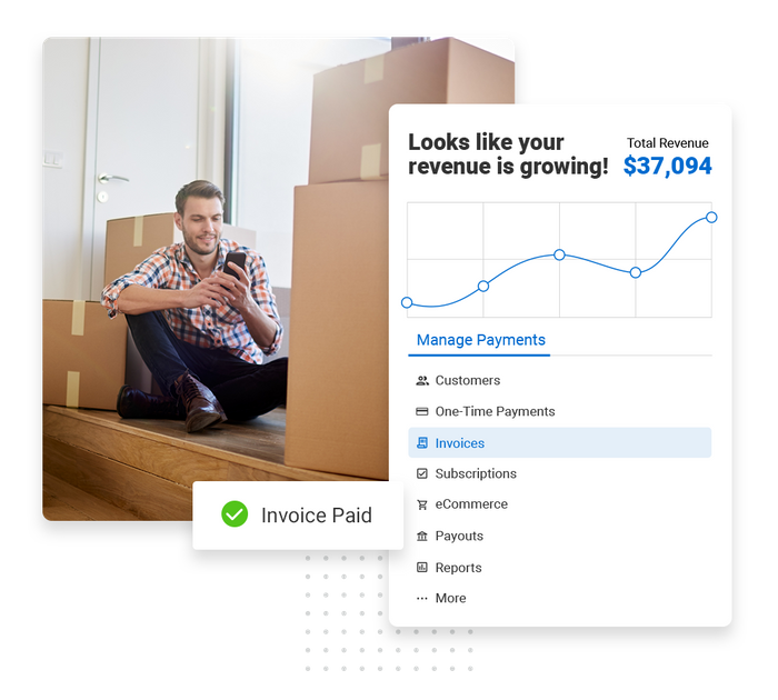 moving company payments software