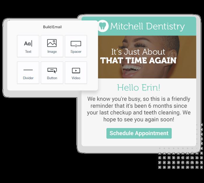 Dentist email marketing