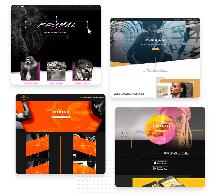 Fitness websites
