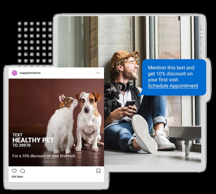 veterinarian text message marketing