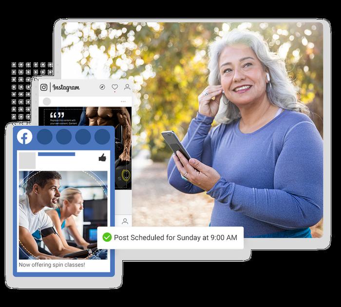 Fitness social media marketing