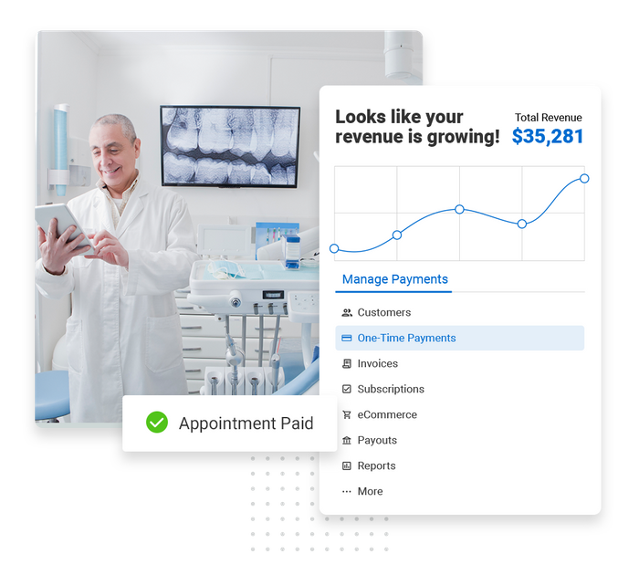 Dental payments software