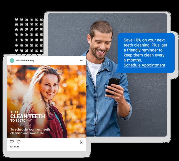 Dentist text message marketing