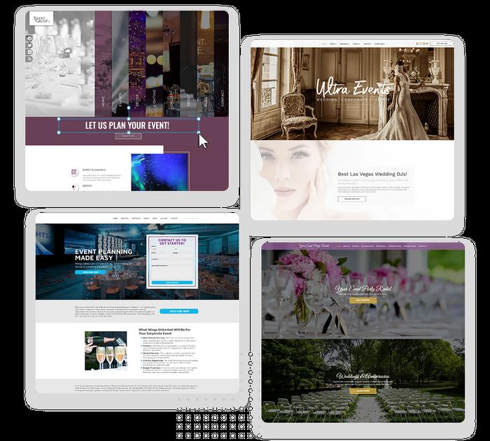 Event planner websites