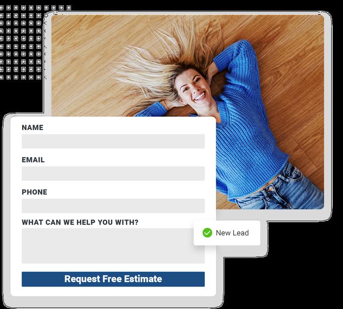 Flooring website forms
