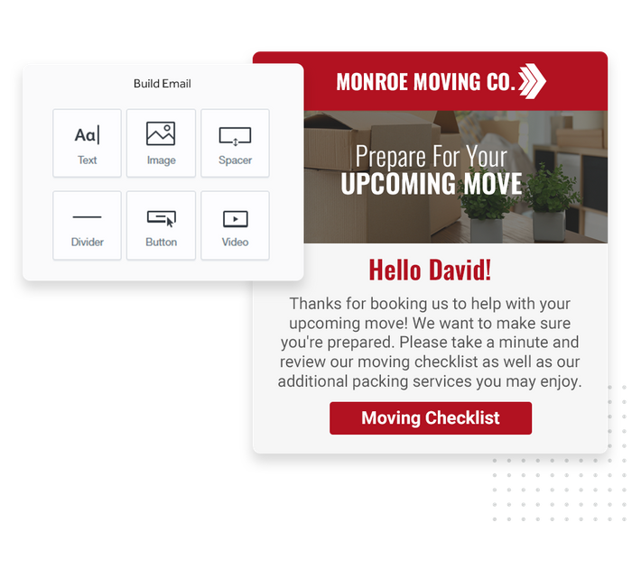 moving company email marketing