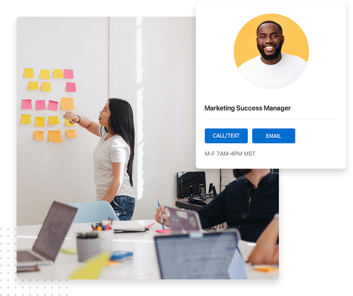 Marketing success manager