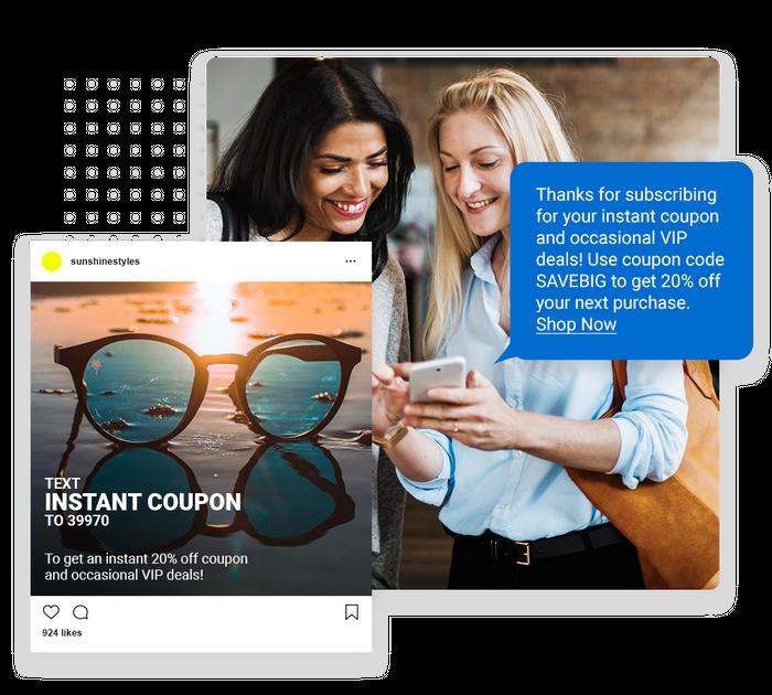 E-commerce SMS marketing