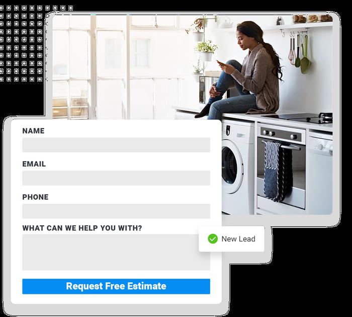 plumbing website forms