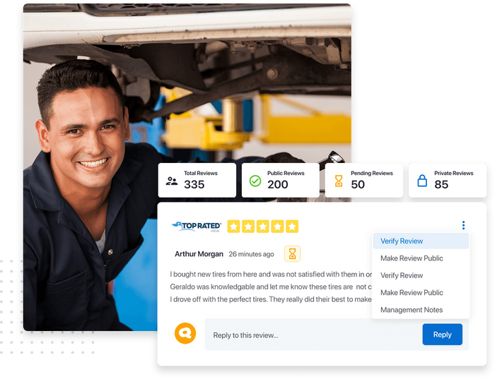 Top Rated Local® auto shop profile