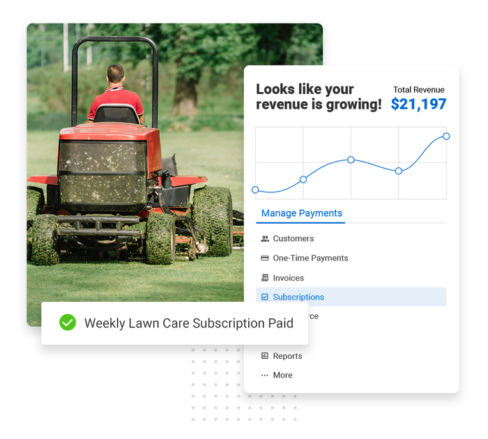 lawn care payments software