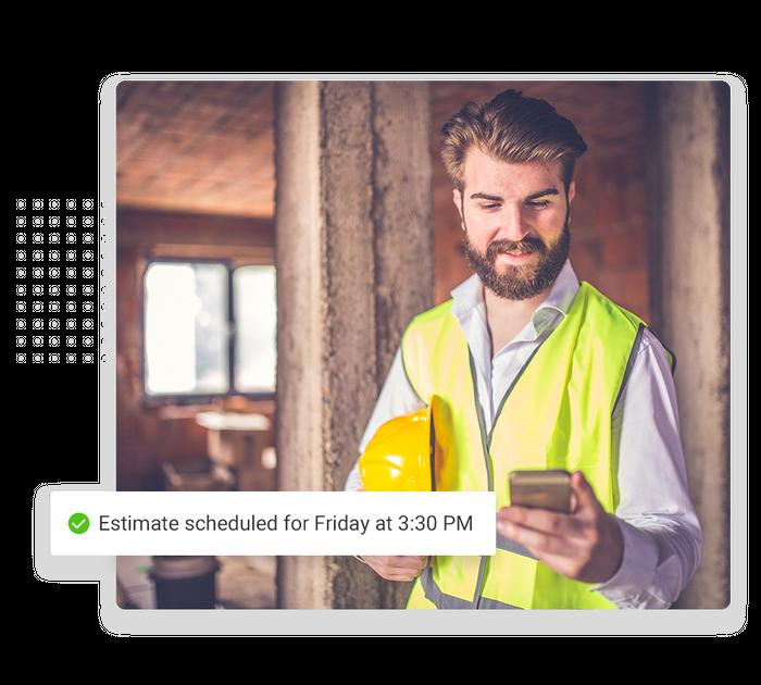 Contractor scheduling software